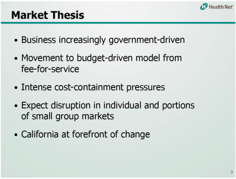 Gellert HealthNet Thesis: JPMorgan Healthcare Conference