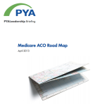 Medicare ACO Roadmap