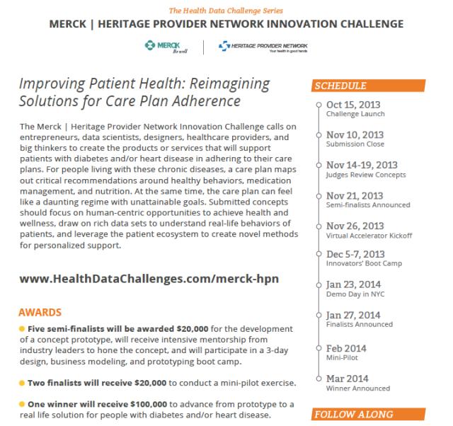 Merck Heritage Innovation Challenge