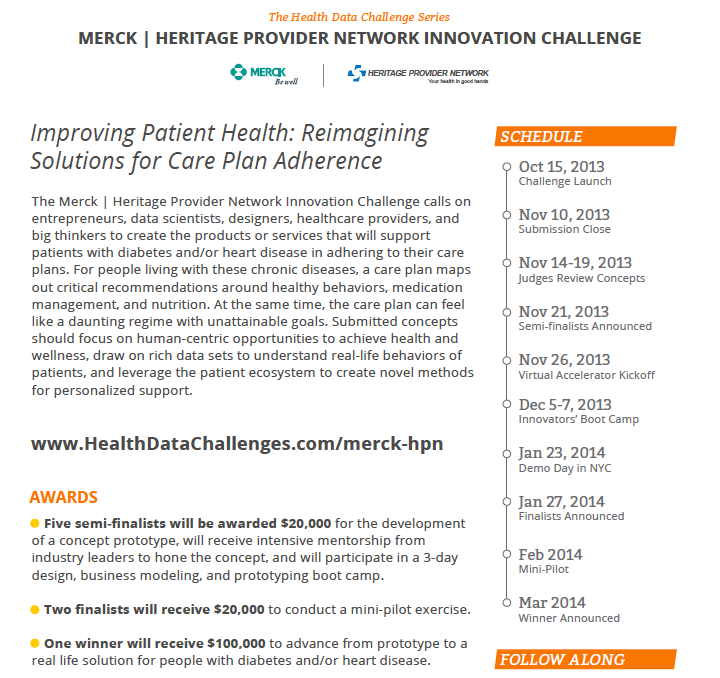 Merck Heritage Innovation Challenge