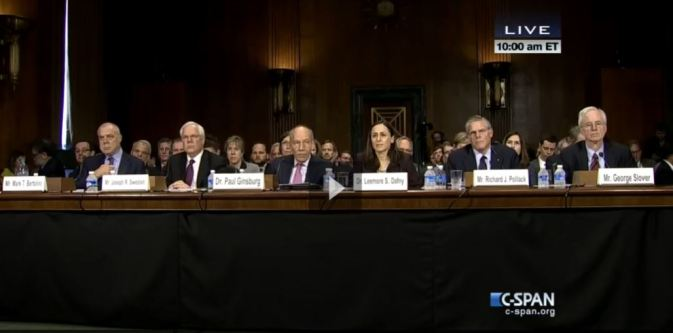 senate hearing health insurance industry