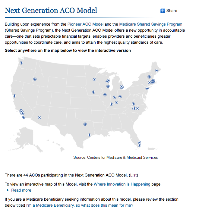 Next Generation ACO Model