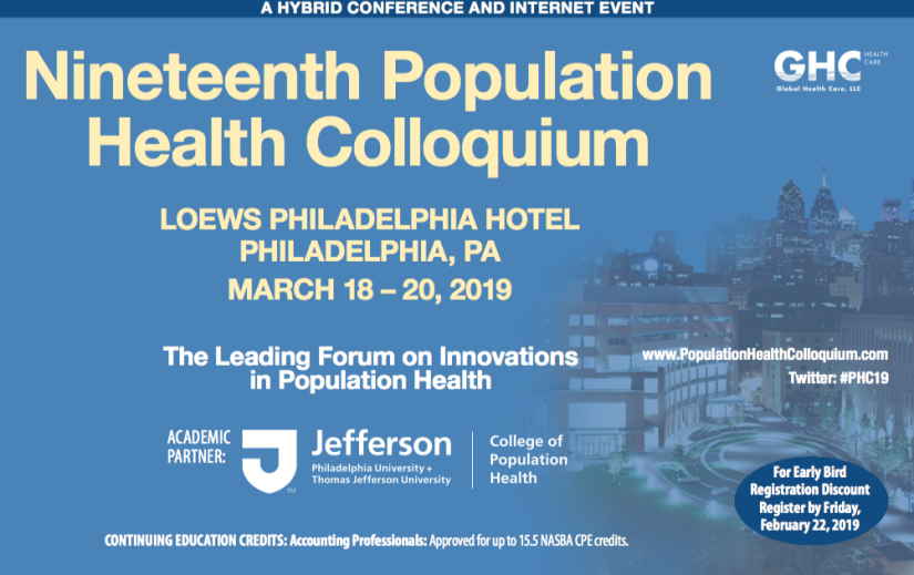 The Population Health Colloquium: Social Determinants of